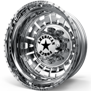 American Force Attack Rear Dually Wheel