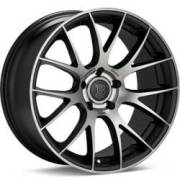 Bremmer Kraft BR09 Black Machined Dark Tint Wheels