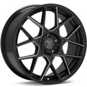 Bremmer Kraft BR15 Black Milled Wheels
