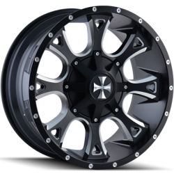 Cali Offroad 9103M Anarchy Black Wheels