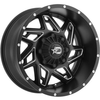 Dropstars DS645 Wheels for Chevy Trucks
