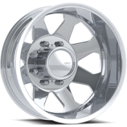 Eagle Series 059 Polished Rear Dually Wheels