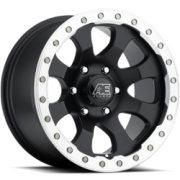 Eagle Series 023 Black Machined Wheels