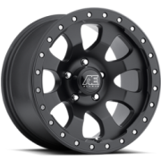 Eagle Series 023 Matte Black Wheels
