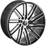 Marquee 3307 Black Machined Wheels