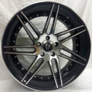 Marquee 3266 Black Machined Wheels