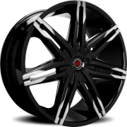 Morder MS-648 Black Machined Wheels
