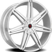 Morder MS-648 Silver Wheels with Brushed Face