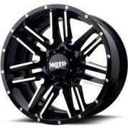 Moto Metal MO202 Gloss Black Milled Wheels