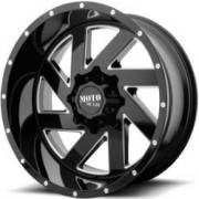 Moto Metal MO988 Melee Black Milled Wheels