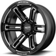 Moto Metal MO991 Rukus Black Milled Wheels