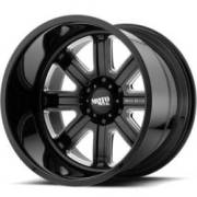 Moto Metal MO402 Gloss Black Milled Wheels