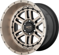 Moto Metal MO800 Deep Six Bronze Tinted Wheels