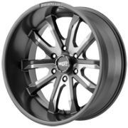Moto Metal MO983 Gray Milled Wheels