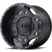 Moto Metal MO977 Link Full Satin Black Wheels