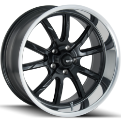 Ridler 650MB Matte Black Wheels