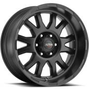 Ultra 108 Xtreme Satin Black Satin Clear