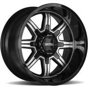 Ultra Wheels 229 Menace Black Machined Wheels