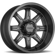 Ultra Wheels 229 Menace Satin Black Wheels